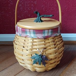 Longaberger Pumpkin Patch Basket